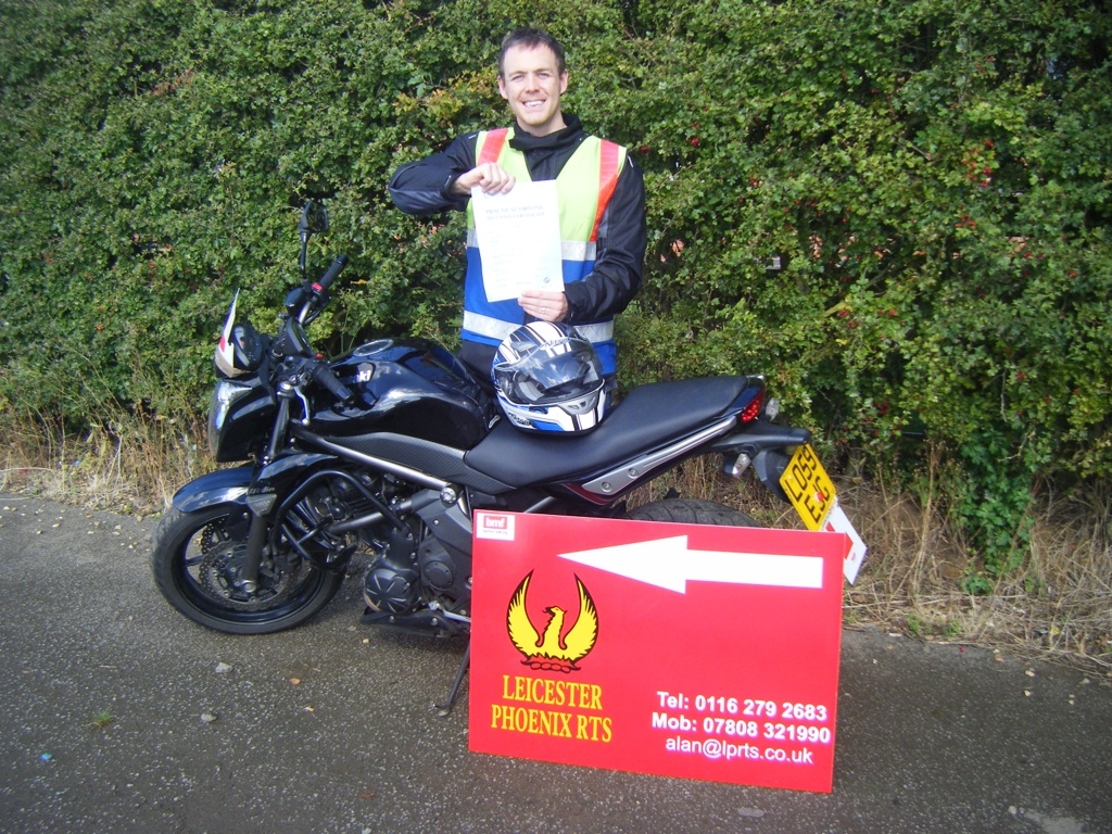 LPRTS Motorcycle training Leicester