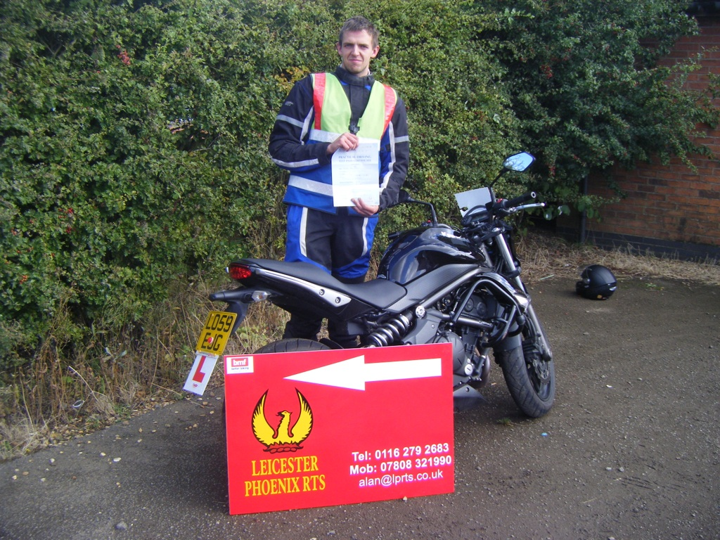 LPRTS motorcycle training and CBT test